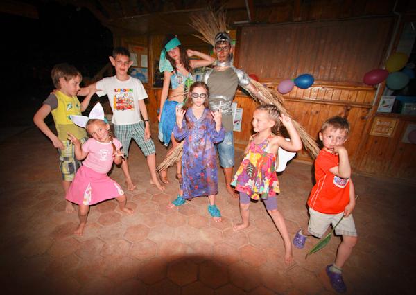 С детьми в Дахаб