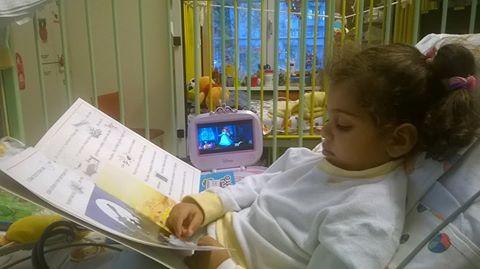 Девочка после операции
