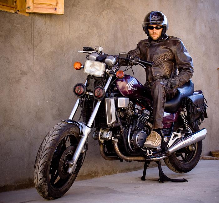мотоцикл в Дахабе, Египет