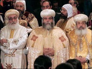 Коптские иерархи