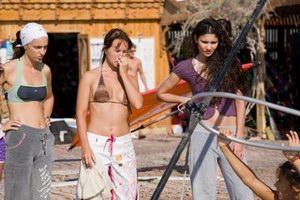 Женский серфовый лагерь